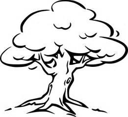 tree outline clip art at clker com vector clip art