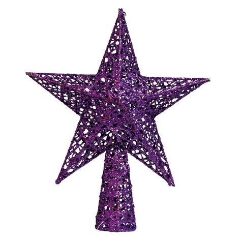 purple star tree topper from heal s jewel coloured