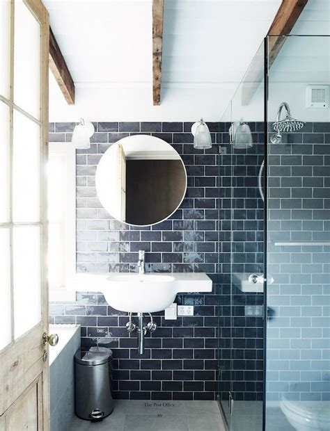 navy bathroom tiles color spotlight navy blue fireclay tile design and inspiration blog fireclay tile