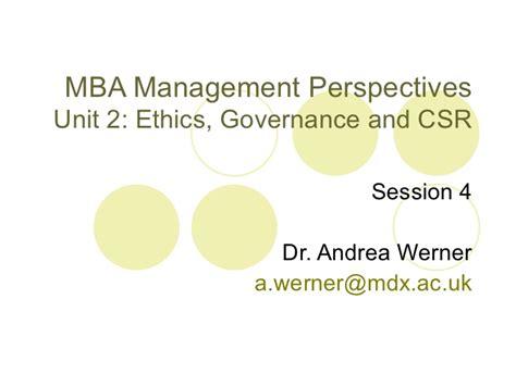Mba Units by Mba 2011 12 Ethics Unit Session 4