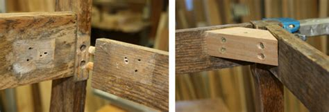 Wood Corner Support Chair Wood Joint Repair