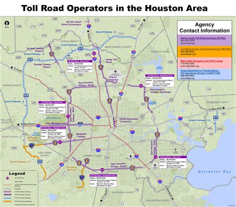 texas toll map harris county toll road map world map 07