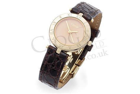 item discontinued 9ct yell gold brown