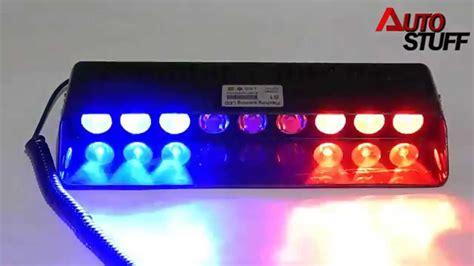 white light for car bright cree led strobe light white and blue