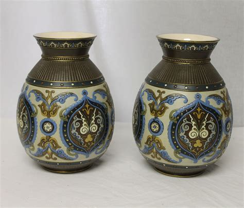 bargain s antiques 187 archive pair of mettlach