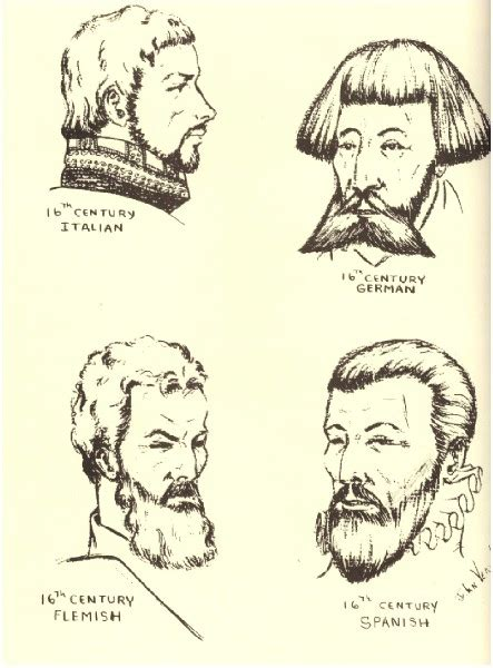 Elizabethan Hairstyles by Hair Design Elizabethan Hair