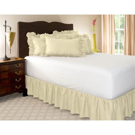 best bed skirt bedskirts king buy best king bone ruffled bed skirt with
