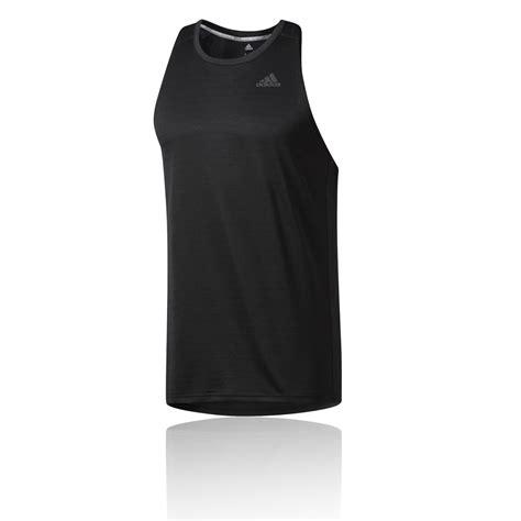 Nakedlily Vest Tank Top Black adidas response mens black climalite sleeveless running