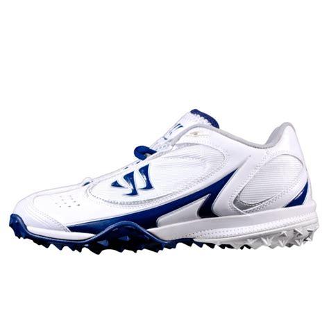 lacrosse turf shoes warrior lacrosse streakr 5 8 turf shoe blue captain lax