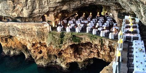 cave resturuant side of a cliff italy image gallery italian restaurant cliff