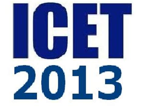Icet For Mba by Apsche Conducts Icet 2013 On 17 May For Mba Mca Careerindia