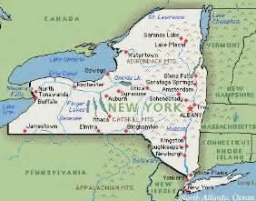 new york united states map new york map