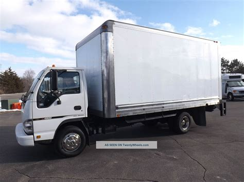 box for truck 2007 chevrolet isuzu npr w4500 15 foot box truck