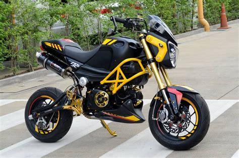 Honda Motorrad In Thailand by Honda Msx Thailand Mocyc In The World Pinterest
