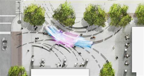 Front Hotel Floor Plan Layout 140 west plaza exhale mikyoung kim design landscape