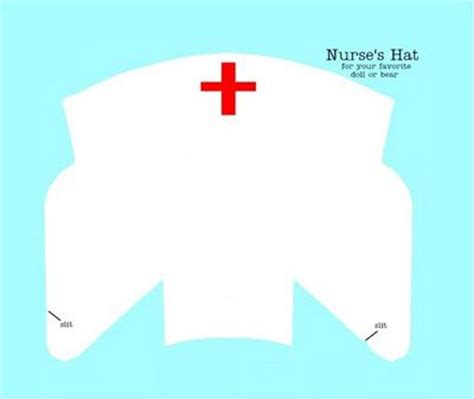 How To Make A Nurses Hat Out Of Paper - nurses hats and inspiration on