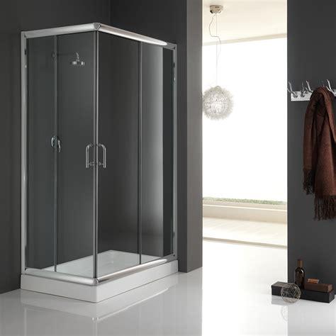 Corner Entry Shower Door Shower Enclosure Corner Entry Cubicle Glass Sliding Screen Door Bathroom Chrome