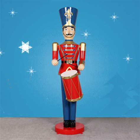 heinimex giant toy soldier with drum 9 high
