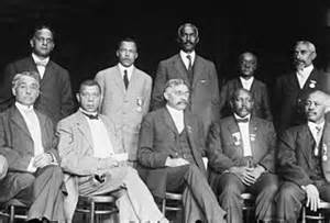 Executive committee of the national negro business league c 1910