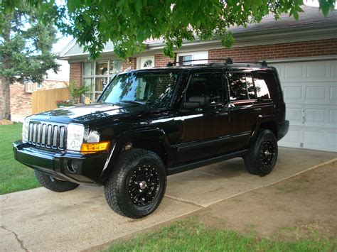 Jeep Commander All Black Ei501 2006 Jeep Commander Specs Photos Modification Info