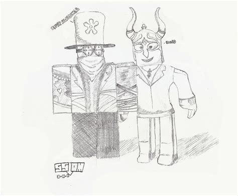 Sketches Roblox by Roblox Drawing Superawesomea Sool0 Sslom77 Flickr