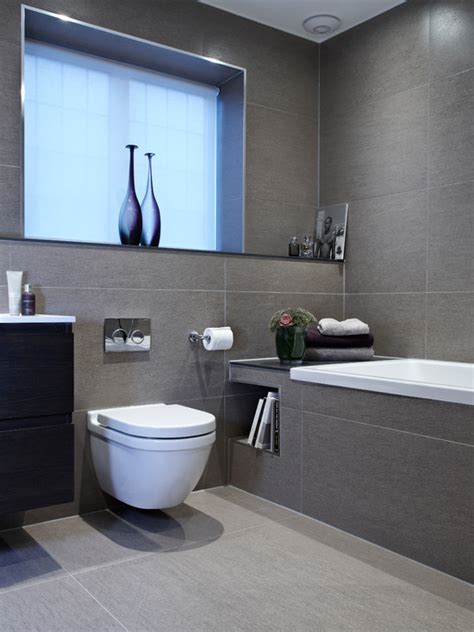Grey And White Bathroom Ideas by Gray Bathroom Tile Grey Tile Bathrooms Grey