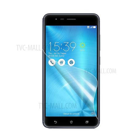 Asus Zenfone 3 Zoom Ze553kl Anti Gores Clear Screen Guard Bening ultra clear lcd screen protector for asus zenfone 3 zoom ze553kl tvc mall