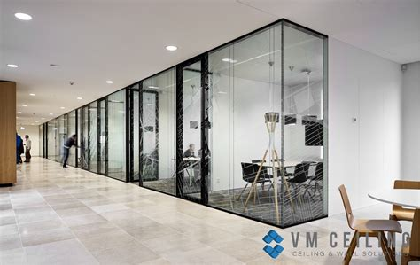 glass partition wall vm false ceiling singapore partition wall contractor