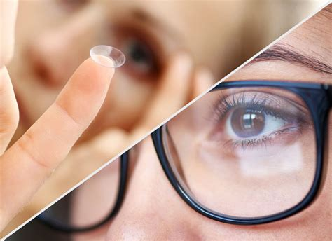 contact lenses vs eyeglasses what you need to
