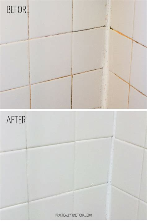 how to whiten grout in bathroom how to clean grout with a homemade grout cleaner