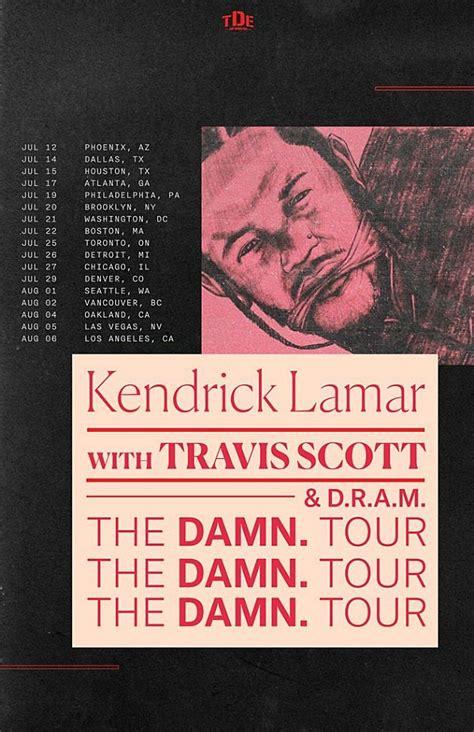 kendrick lamar tour dates kendrick lamar reveals damn tour dates xxl