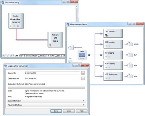 vector signal analyzer tutorial logging formats vector knowledgebase