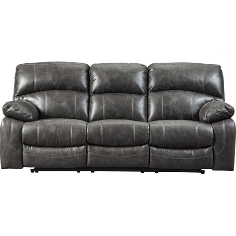 power recliners ashley furniture ashley furniture dunwell power recliner sofa in steel