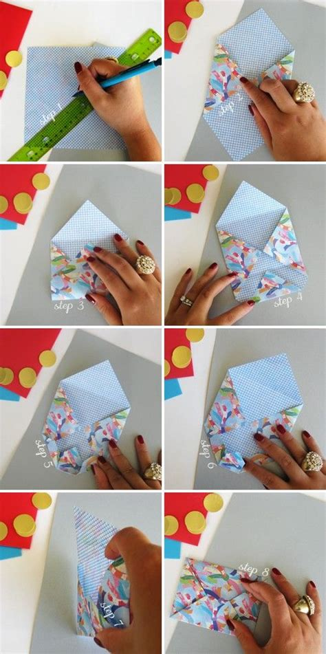 Gift Card Envelopes Diy - origami envelope diy pinterest