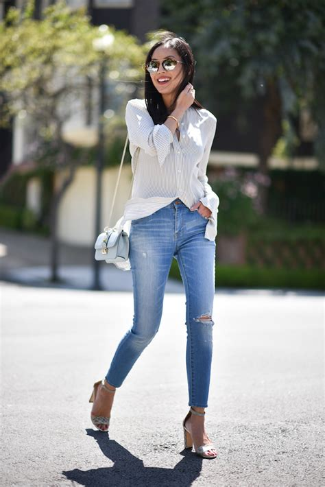 Blouse Booked boyfriend blouse 9to5chic