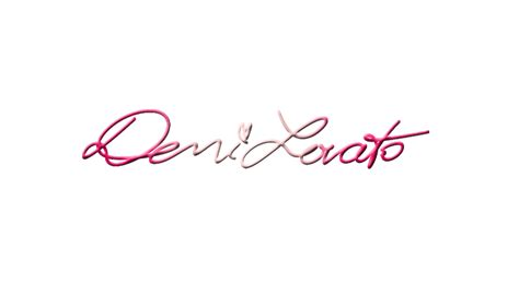 demi lovato autograph by maiaaeditions on deviantart