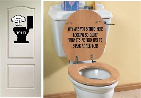 unique bathroom signs 25 best ideas about funny toilet seats on pinterest