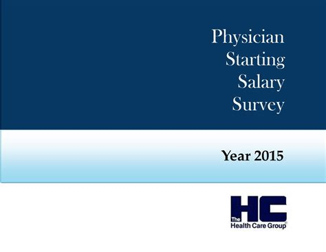 Mba Salary Nationwide Insurance by 2015 Physician Starting Salary Survey