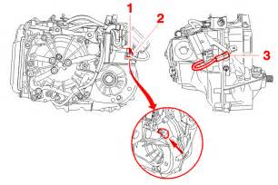 Peugeot 206 Speed Sensor Warning The Connector Mounting 3 Is Fragile