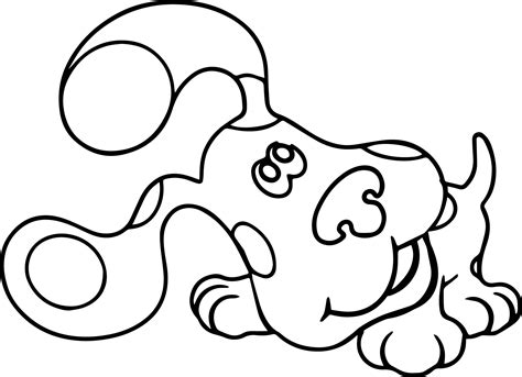 coloring book listen blue s clues listen coloring page wecoloringpage