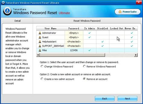 windows password reset guide windows password reset user guide how to reset lost or