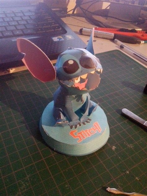 Stitch Papercraft - stitch papercraft by imarellano on deviantart