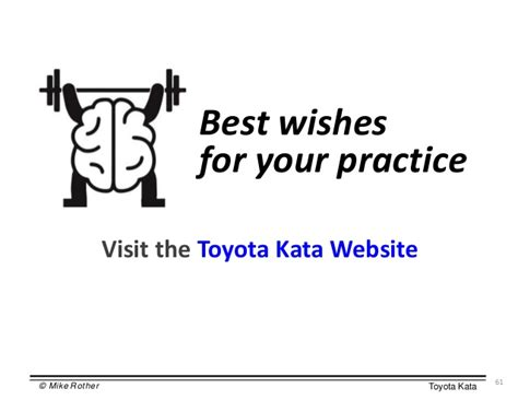 the toyota kata practice guide practicing scientific thinking skills for superior results in 20 minutes a day books kata presentation