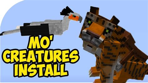 mo downloads mo creatures mod 1 10 2 minecraft voice guide how to