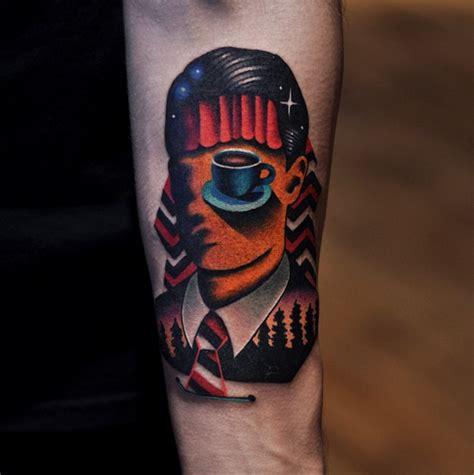 twin peaks tattoos peaks by david cote tattoos