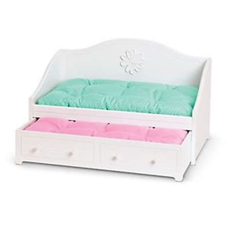 american girl trundle bed american girl myag dreamy daybed for dolls white trundle 2
