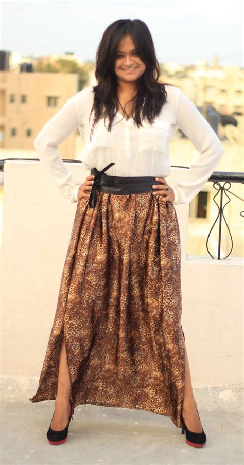 Misel Collection Ikat Pingga Fashion Belt Leopard leopard print maxi skirt boho skirt maxi circle skirt skirt maxi bohemian skirt maxi