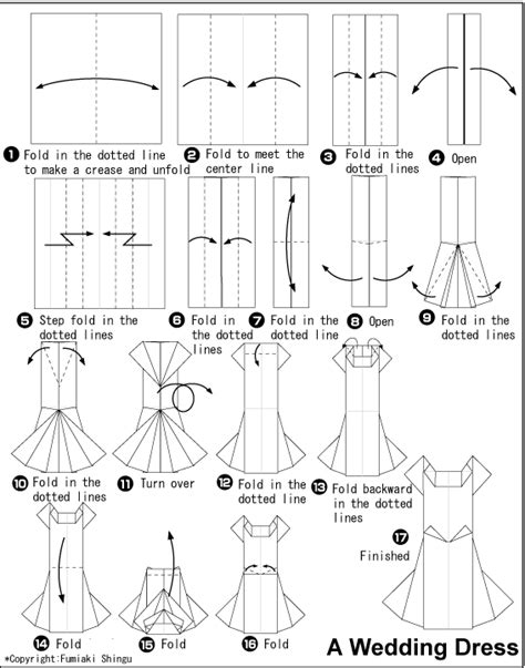 How To Make Paper Clothes - diagram
