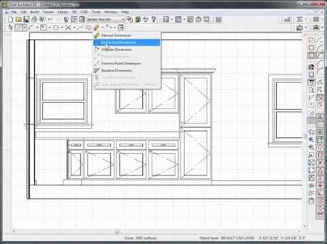chief architect dimensions the dimension tools in chief architect