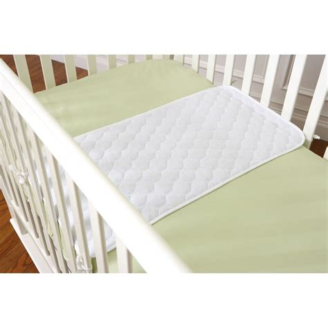 Quilted Crib Sheet by Summer Infant Quilted Crib Sheet Saver White